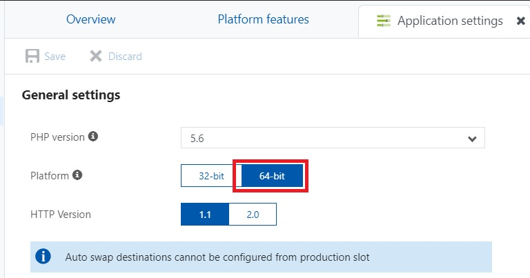 platform-setting